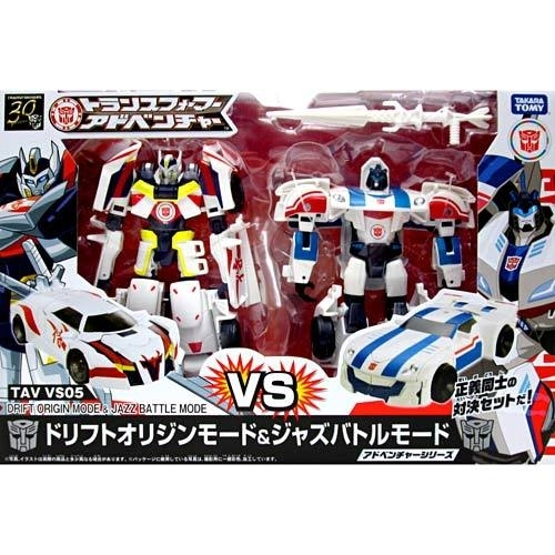 Takara TAV-VS05 Drift Origin & Jazz Battle Mode