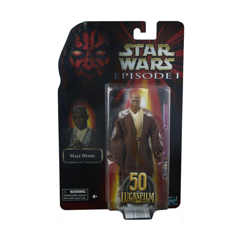 Star Wars Episode I Black Series Lucasfilm 50th Ann. AF 2021 Mace Windu