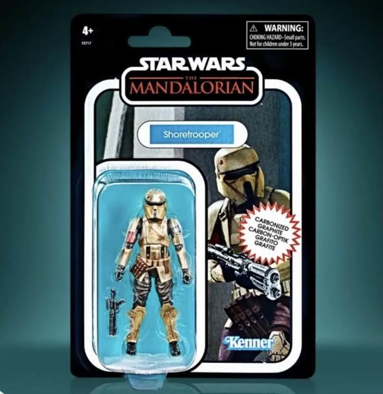 Star Wars VIntage Collection AF Shoretrooper Carbonized [Import stock]