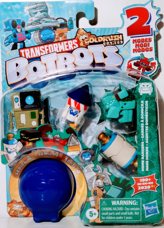 Hasbro Botbots Serie 4 Home Rangers Set of 5 [B]