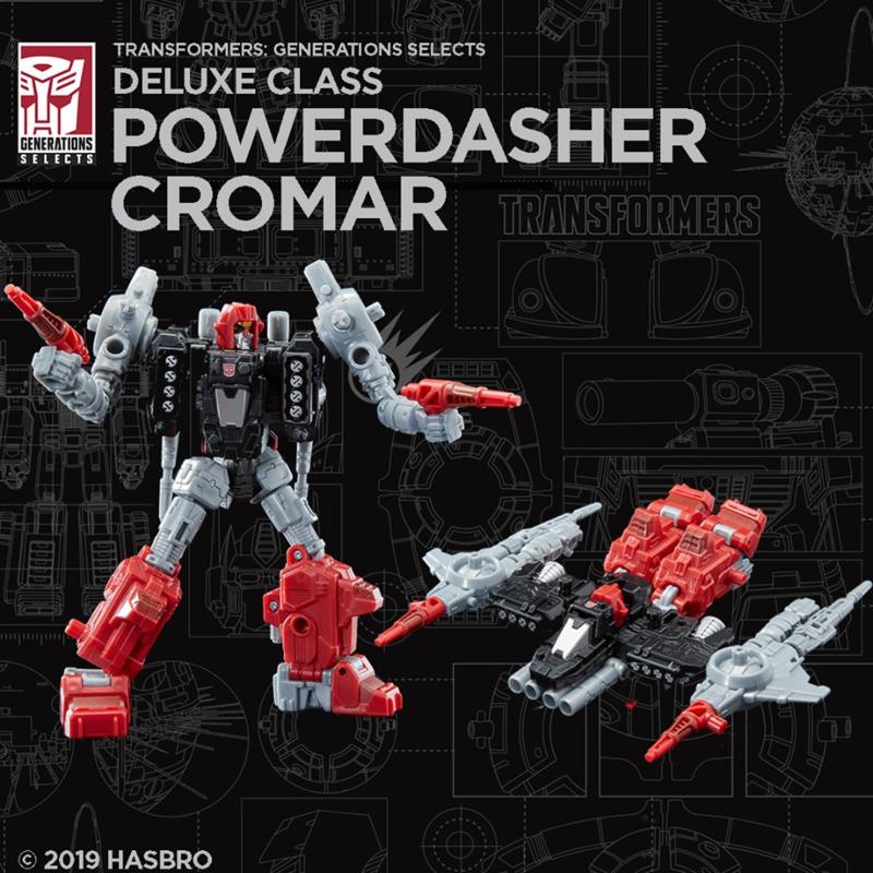 Hasbro WFC-GS04 Deluxe Cromar