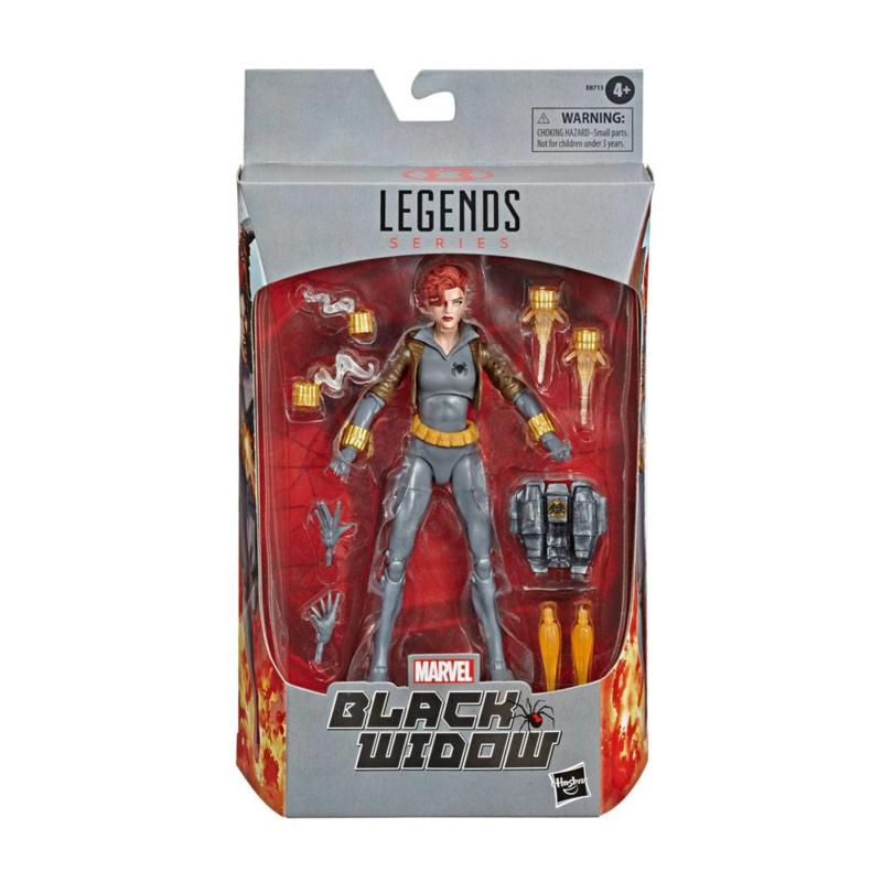 Marvel Legends Black Widow Grey Suit - Pre order