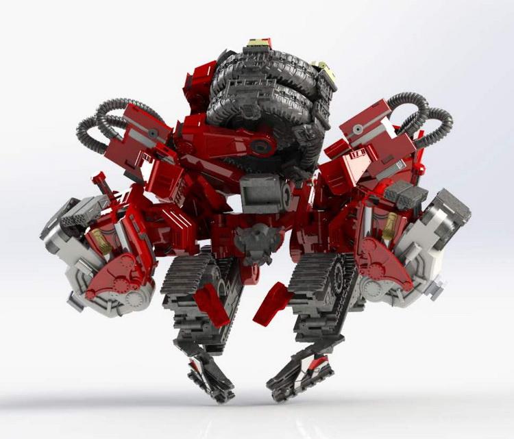Devil Saviour DS-02 Giant Axe - Pre order