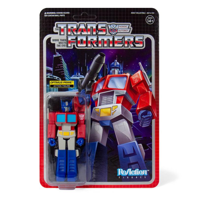 Super 7 Transformers ReAction Optimus Prime - Pre order