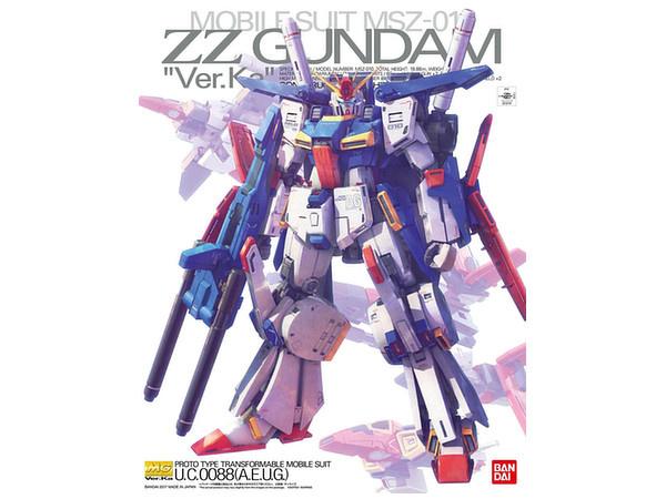 1/100  MG MSZ-010 ZZ Gundam Ver. Ka