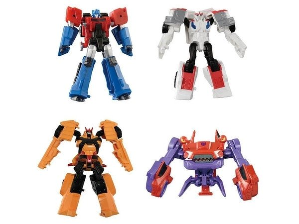 Takara TAV-49 EZ Collection Autobots vs Clampdown