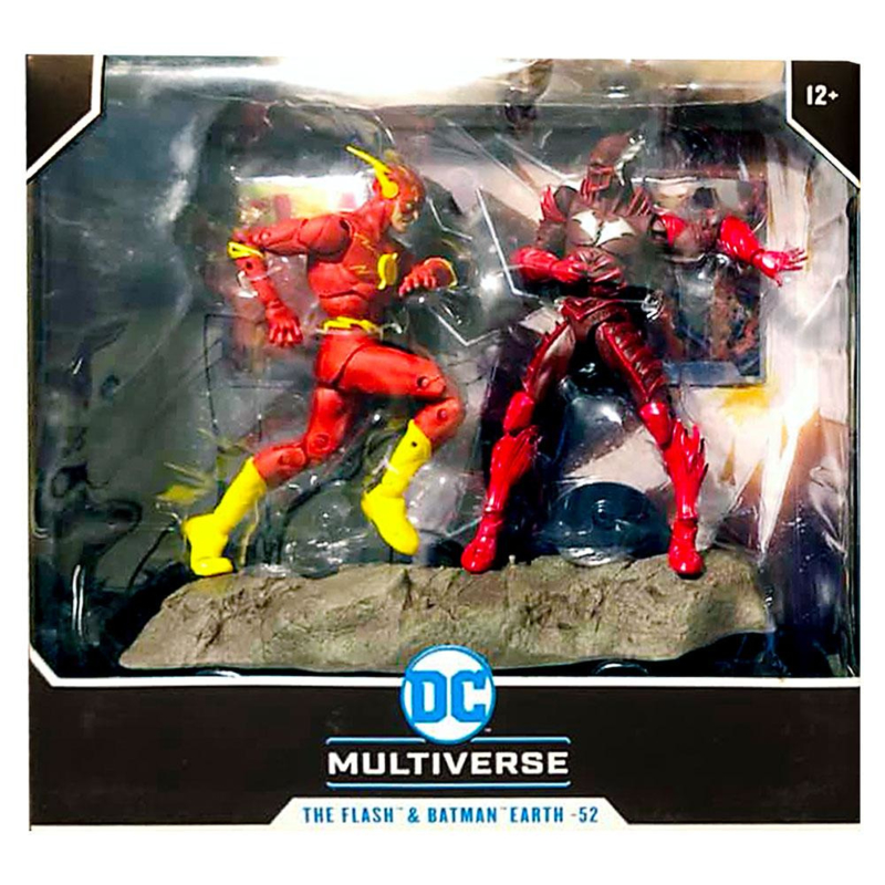 DC Multiverse AF Collector Multipack Earth - 52 Batman VS Flash