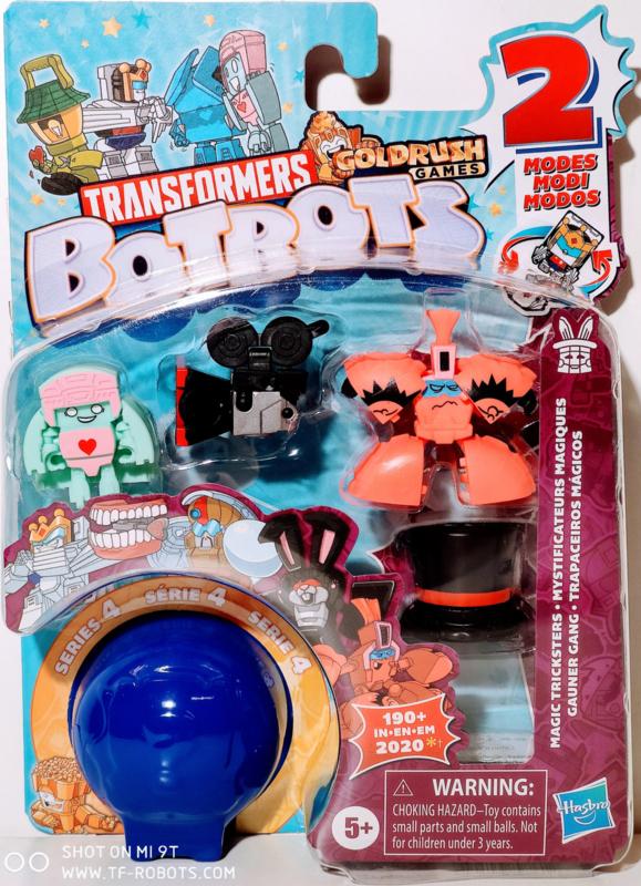 Hasbro Botbots Serie 4 Magic Tricksters Set of 5 [A]