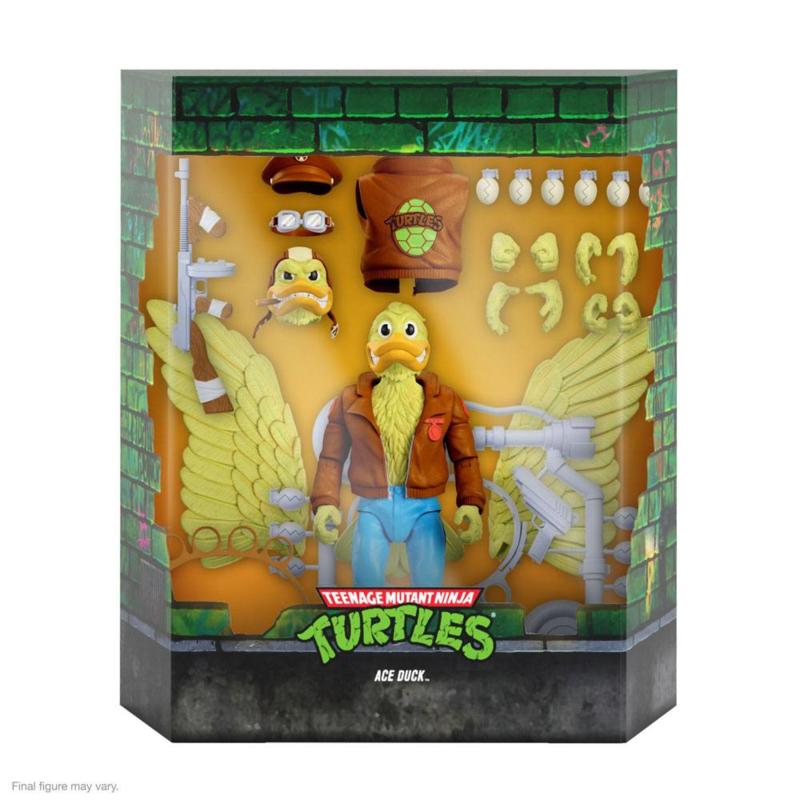 Super7 Teenage Mutant Ninja Turtles Ultimates Ace Duck - Pre order