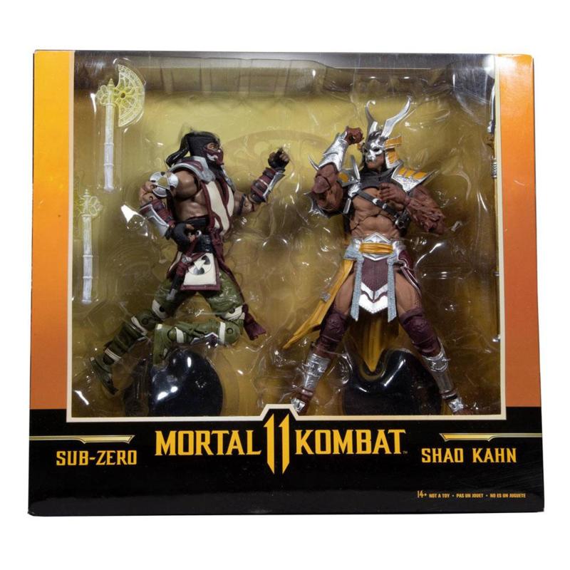 McFarlane Toys AF 2-Pack Sub-Zero & Shao Khan