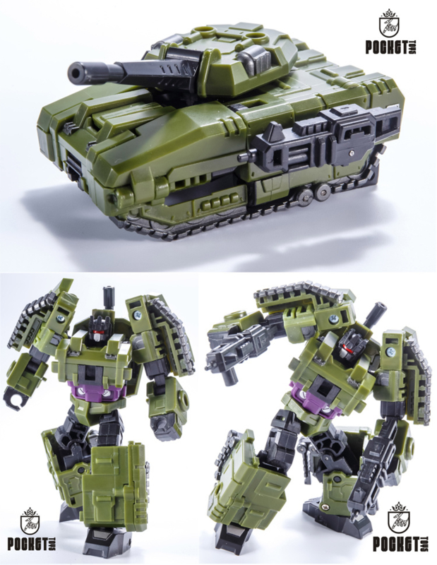 Transformers Pocket Toys Bruticus PT-05 War Giant Legends Action Figure