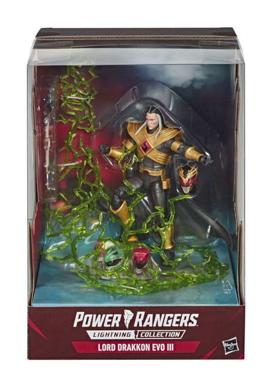 Power Rangers MMPR Lightning Collection AF 2020 Lord Drakkon Evo III Exclusive