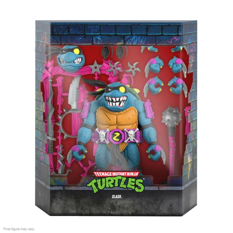 Super7 Teenage Mutant Ninja Turtles Ultimates Slash - Pre order