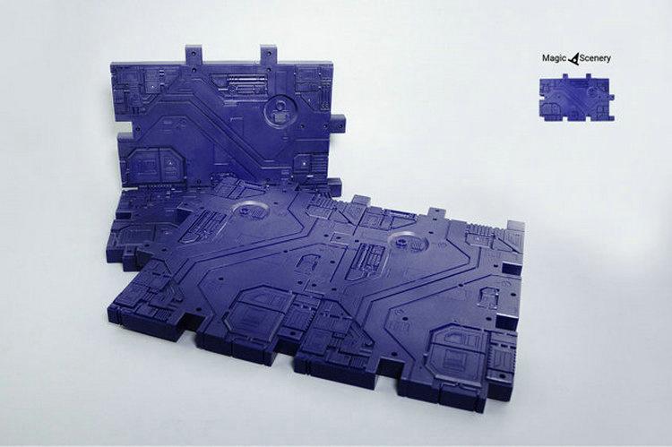 Magic Scenery - Background Purple