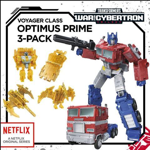 Hasbro Netflix Siege of Cybertron Voyager Optimus Prime - Pre order