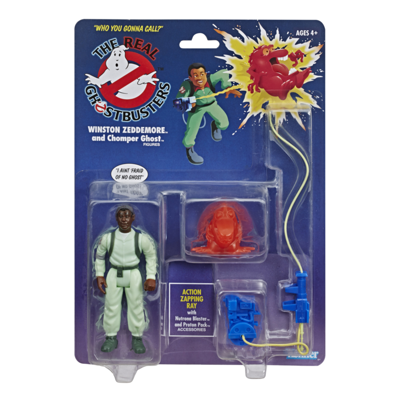 Ghostbusters Kenner Classics Zeddmore - Pre order