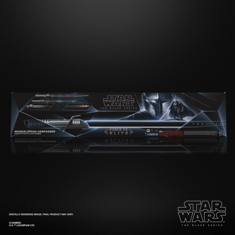 Star Wars The Black Series Mandalorian Darksaber Force FX Elite Lightsaber - Pre order
