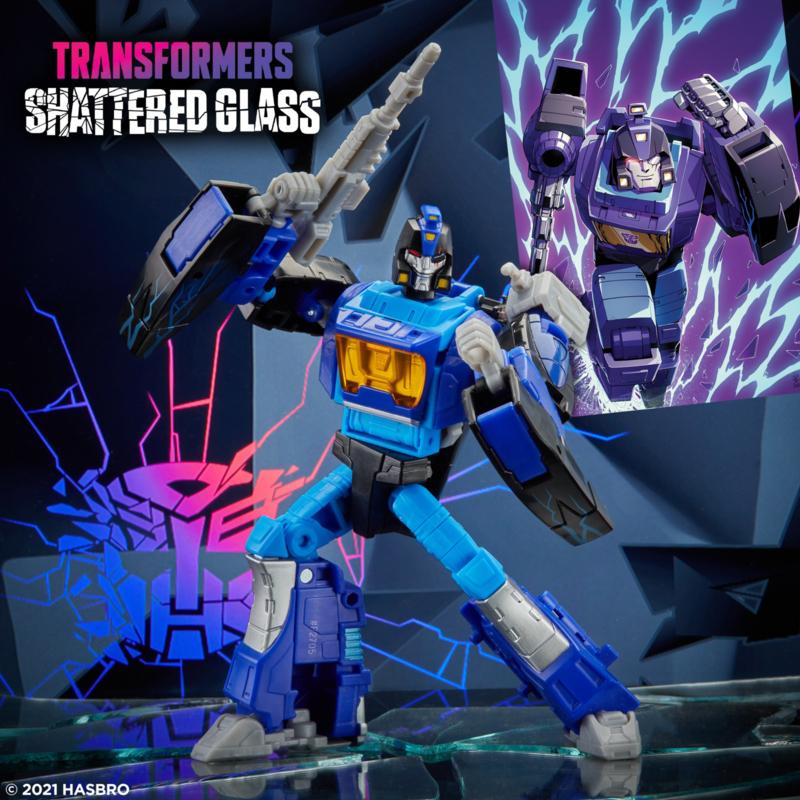 Hasbro Shattered Glass Deluxe Blurr - Pre order