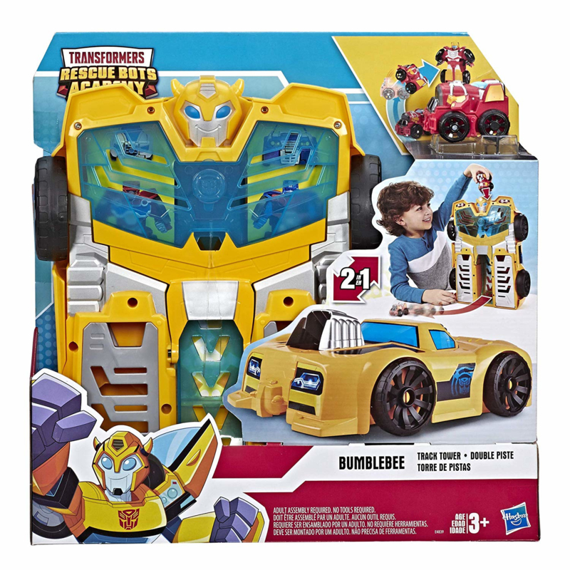Transformers Rescue Bots Academy Bumblebee Track Tower - Pre order