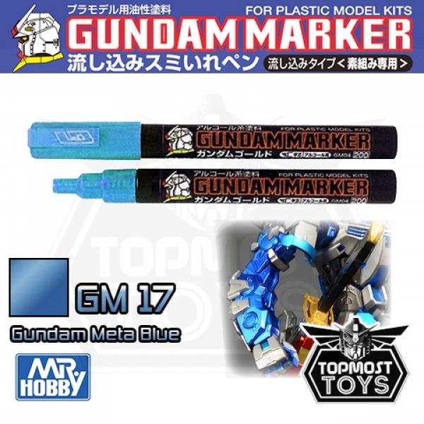 Gundam Marker GM-17 Metallic Blue Marker