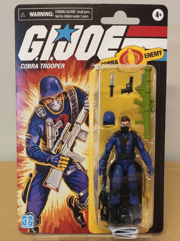 "G.I. Joe Retro 3.75"" Cobra Trooper"