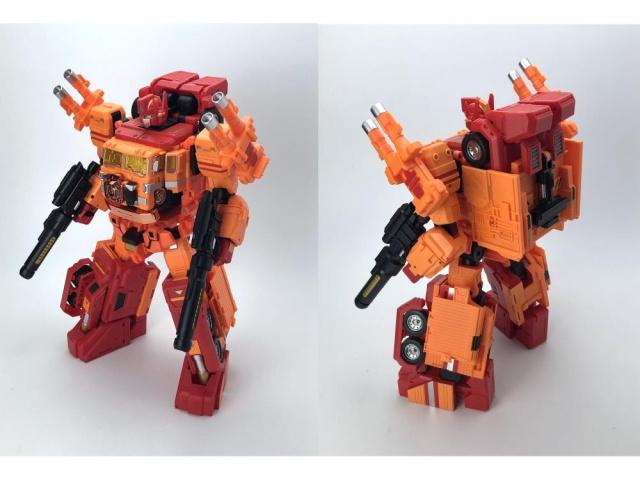 Fanshobby MB-06D Orange Power Baser + MB-11D God Armor Set - Pre order