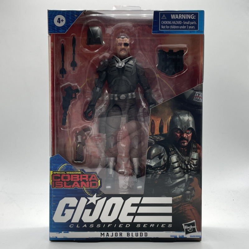 G.I. Joe Classified Series Major Budd [Cobra Island]