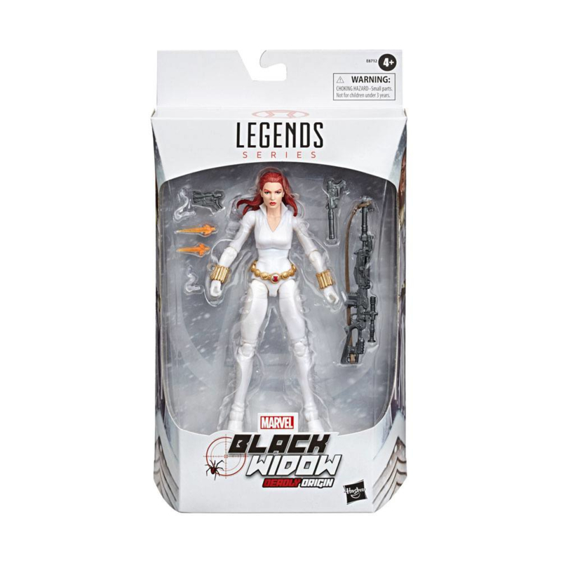 Marvel Legends Black Widow White Suit Deadly Origin - Pre order