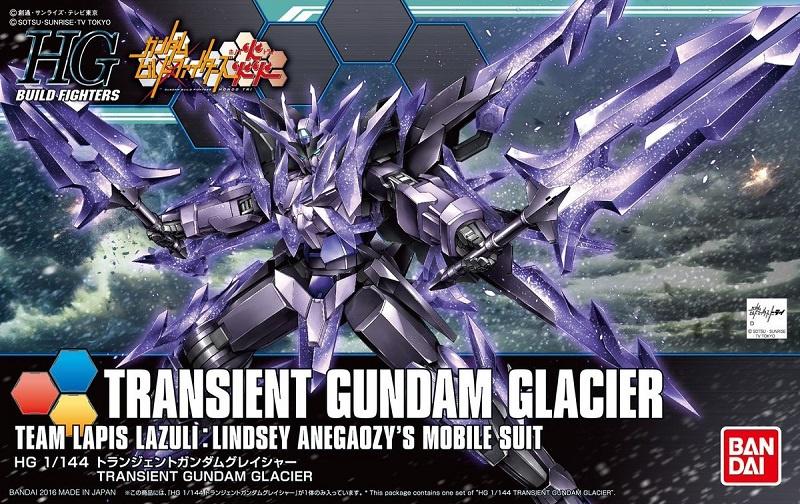 1/144 HGBF GN-10000 Transient Gundam Glacier