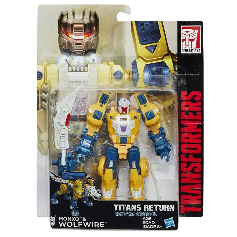 Titans Return Deluxe Wolfwire