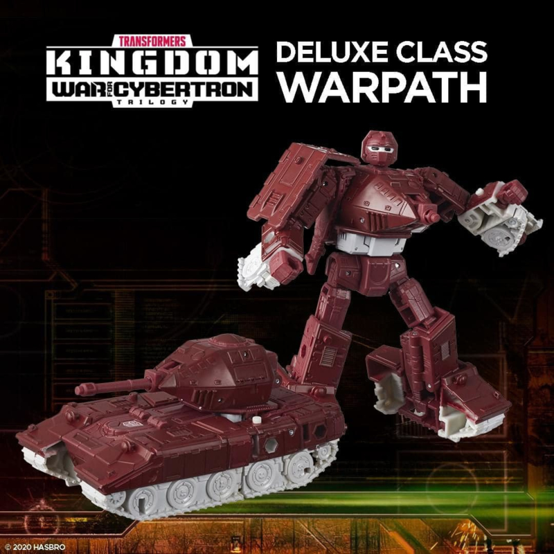 Hasbro WFC Kingdom Deluxe Warpath - Pre order
