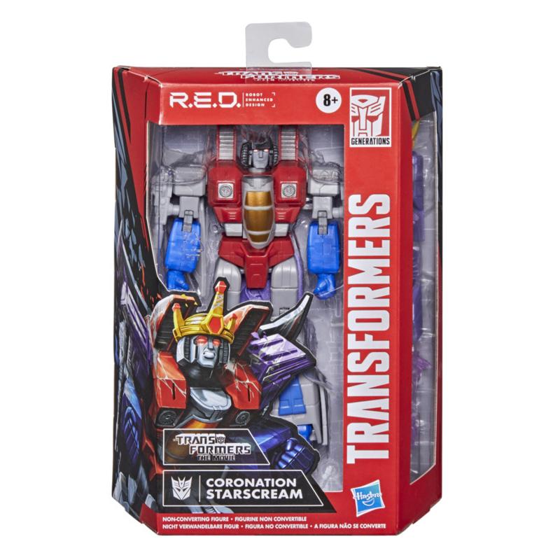 Hasbro Transformers R.E.D. Series G1 Starscream - Pre order