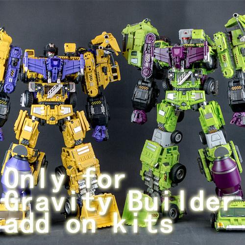 Transformers Toy Generation GT-09 Head Upgrade Kit for Decepticons Devastator