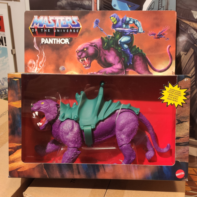 Masters of the Universe Origins Action Figure 2021 Panthor