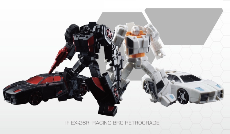 Iron Factory IF EX-26R Racing Bro Retrograde [Set of 2] - Pre order