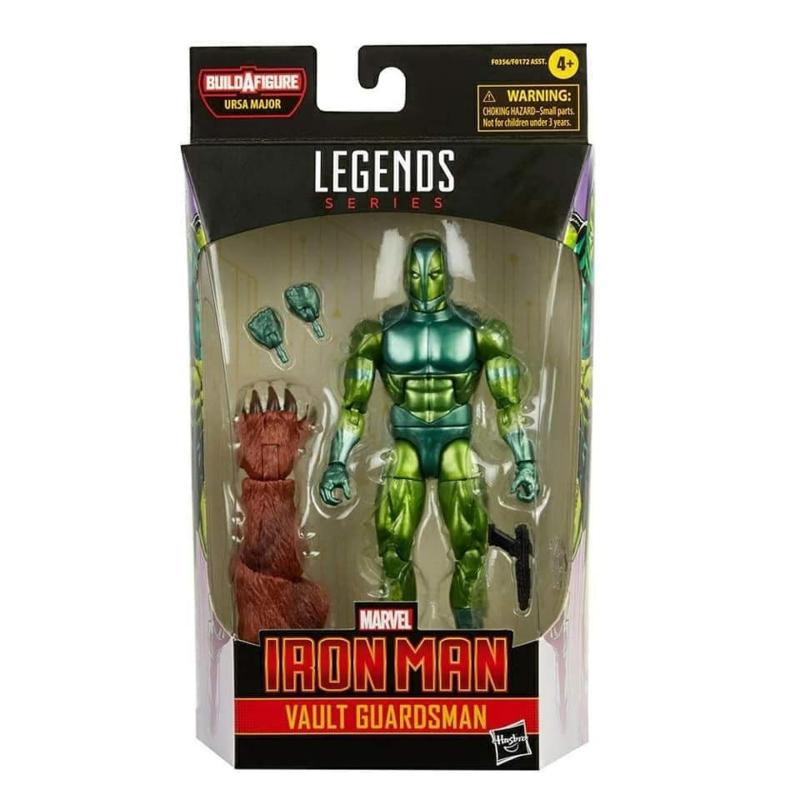 Marvel Legends Comic Series Vault Guardsman [BAF Ursa Major] - Pre order