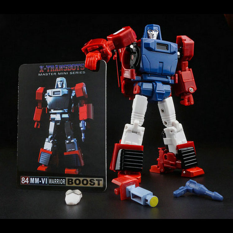 X-Transbots MM-06 Boost [Cartoon Version]