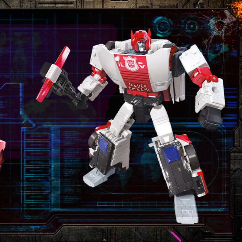 Hasbro WFC Siege Deluxe Red Alert