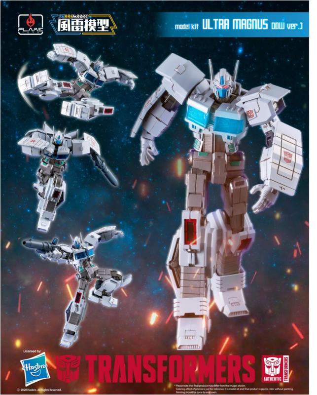 Flame Toys Furai Model Ultra Magnus IDW - Pre order