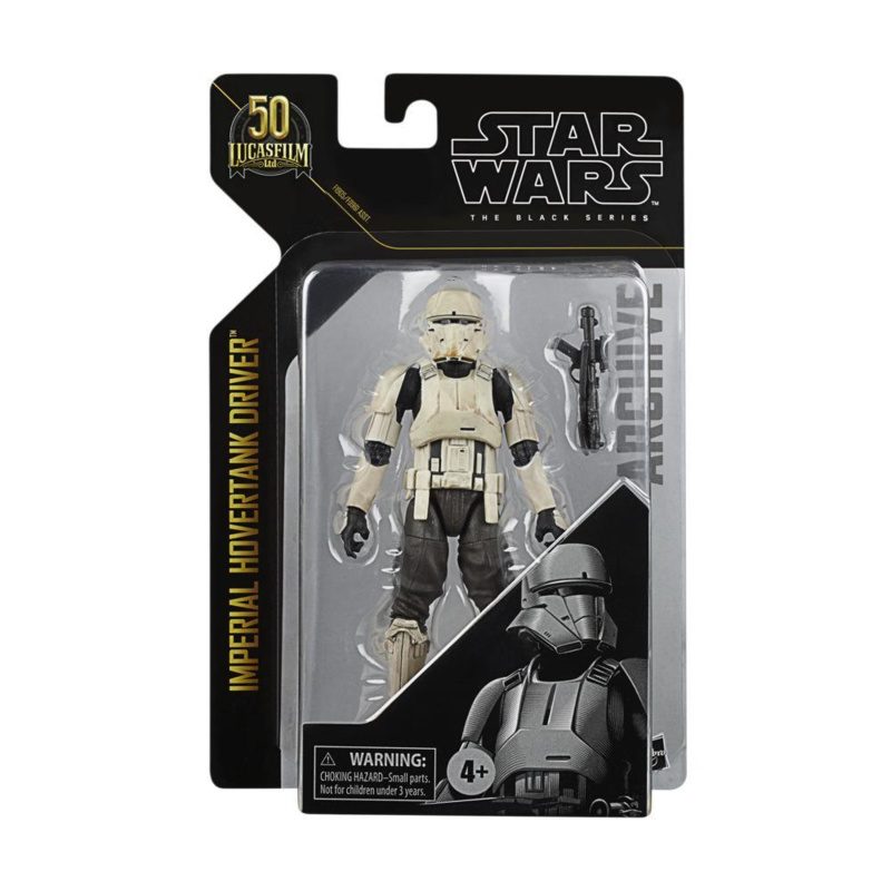Star Wars The Black Series Archive Imperial Hovertank Driver 50th Ann.