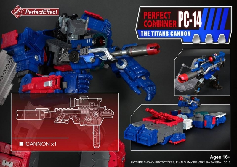 Perfect Effect PC-14 Upgrade set The Titans Cannon
