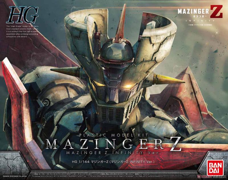 1/144 HG Mazinger Z Infinity Version