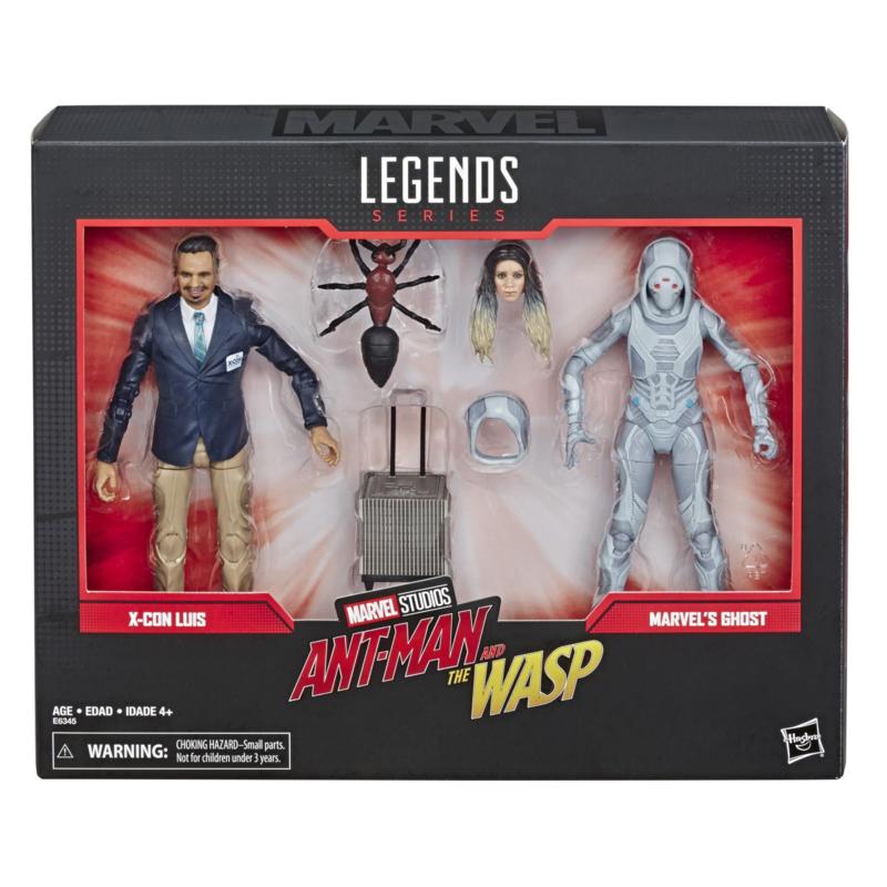 Marvel Legends Luis & Ghost