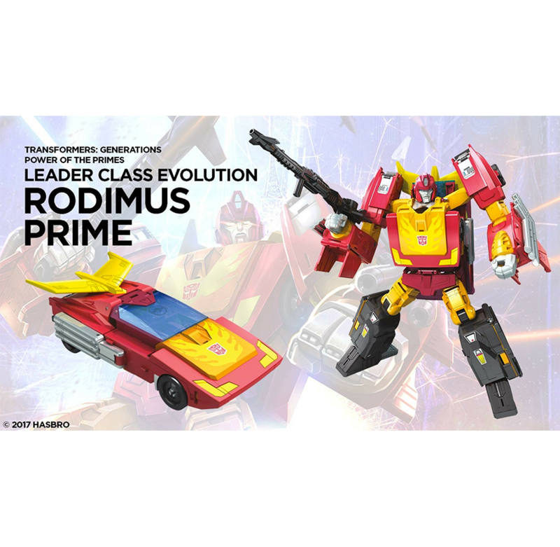 Hasbro PotP Wave 1 Leader Rodimus Prime