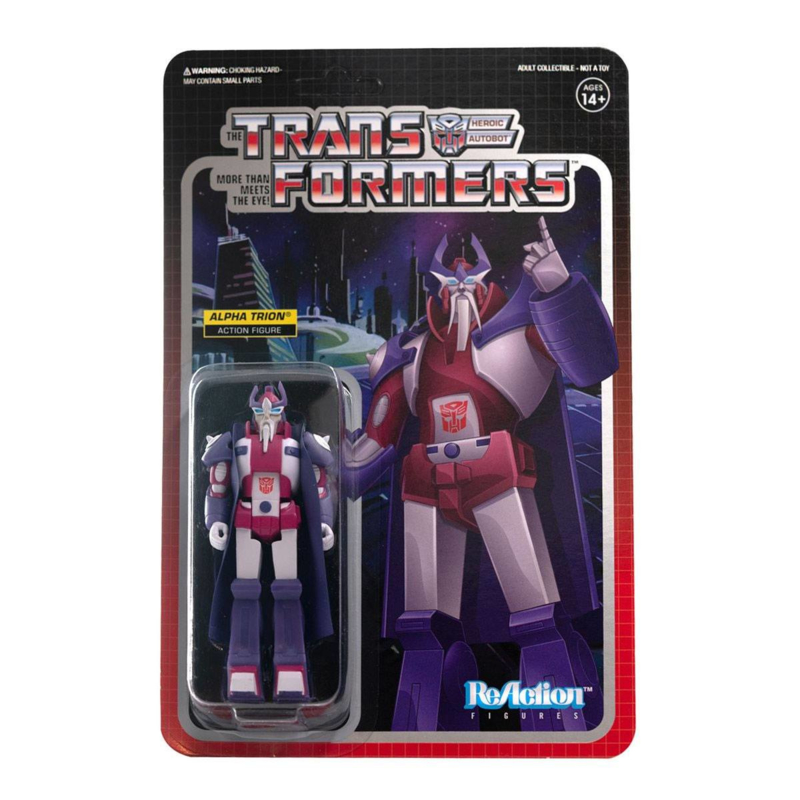 Super7 Transformers ReAction Alphatrion - Pre order