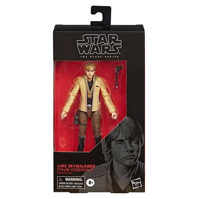 Black Series AF Luke Skywalker Yavin Ceremony