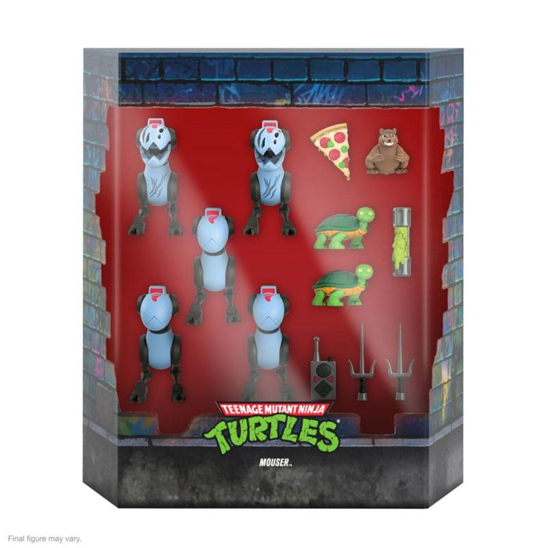 Super7 Teenage Mutant Ninja Turtles Ultimates Mousers - Pre order