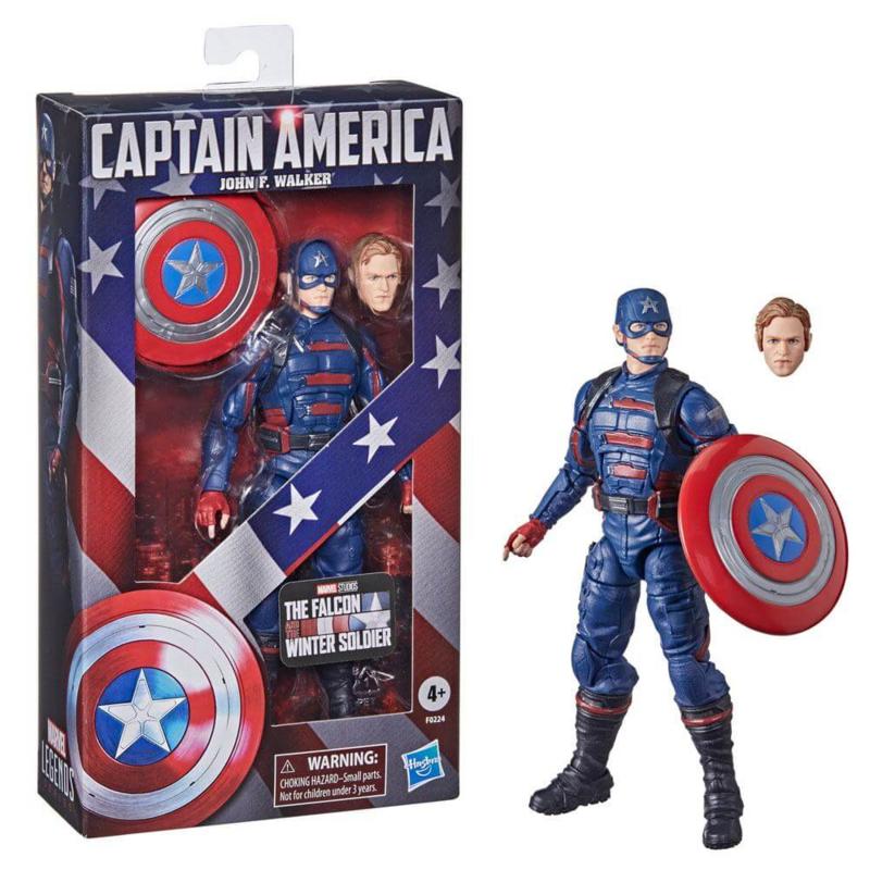 Marvel Legends AF 2021 Captain America (John F. Walker) IMPORT STOCK