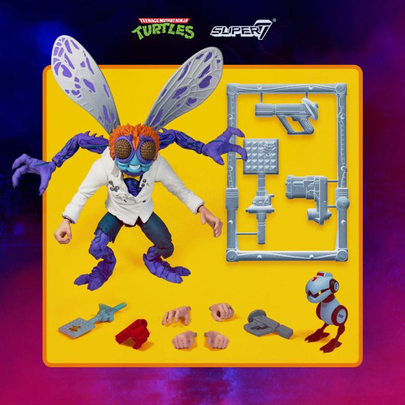 Super7 Teenage Mutant Ninja Turtles Ultimates Baxter Stockman