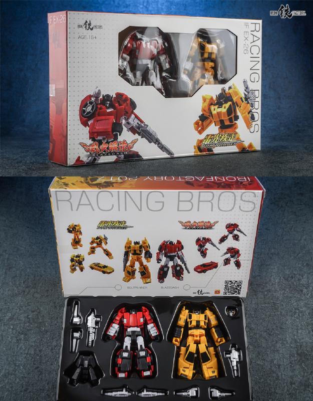 Iron Factory IF-EX26 Racing Bros